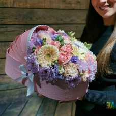 Цветочная люлька на рождение девочки