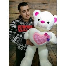 """Мягкая игрушка """" Медведь с сердцем"""""""